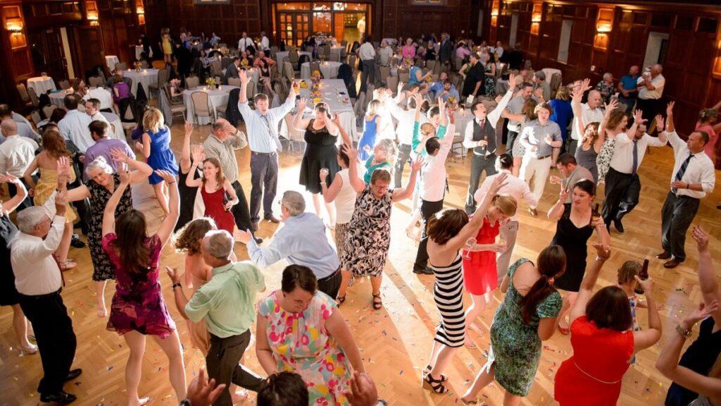 Dance Floor at Wedding