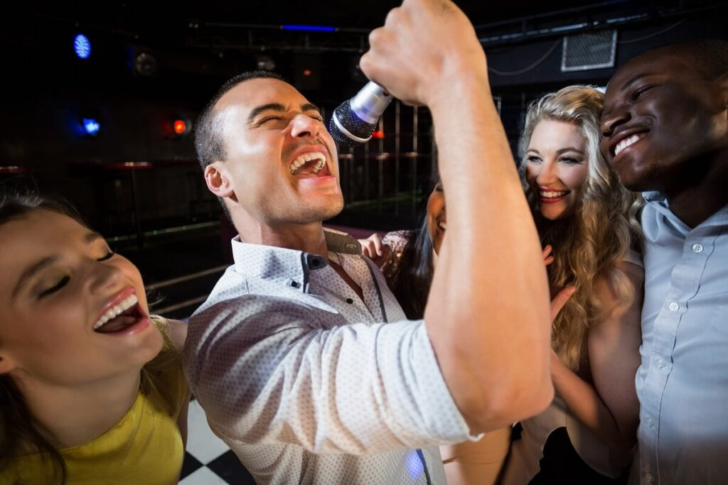 Karaoke Singer (man) Karaoke Party in Los Angeles, Karaoke DJ, Karaoke MC