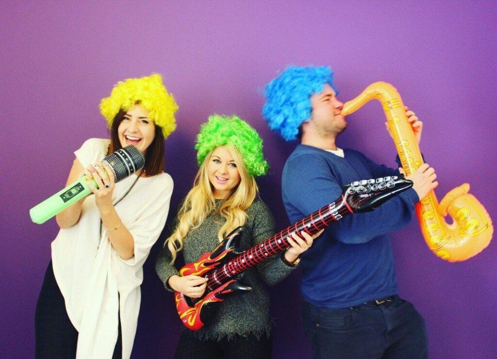 Fun Karaoke show with props, Los Angeles