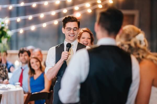 Wedding Toast/Speech, Best man, Wedding Reception