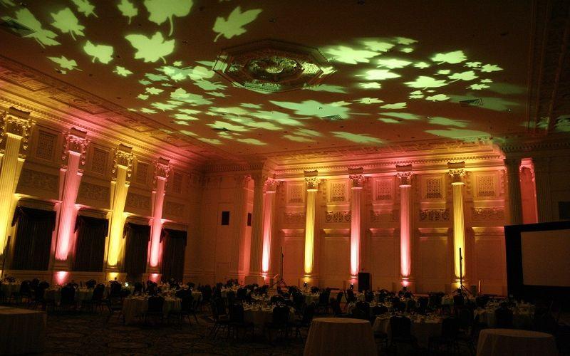 lighting on ceiling