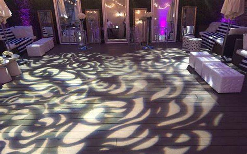 lighting on the dance floor