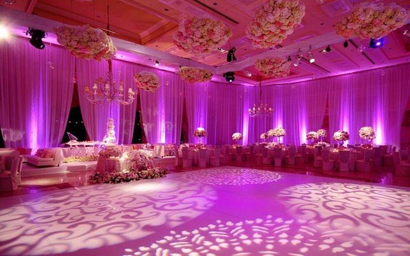 lighting on dance floor
