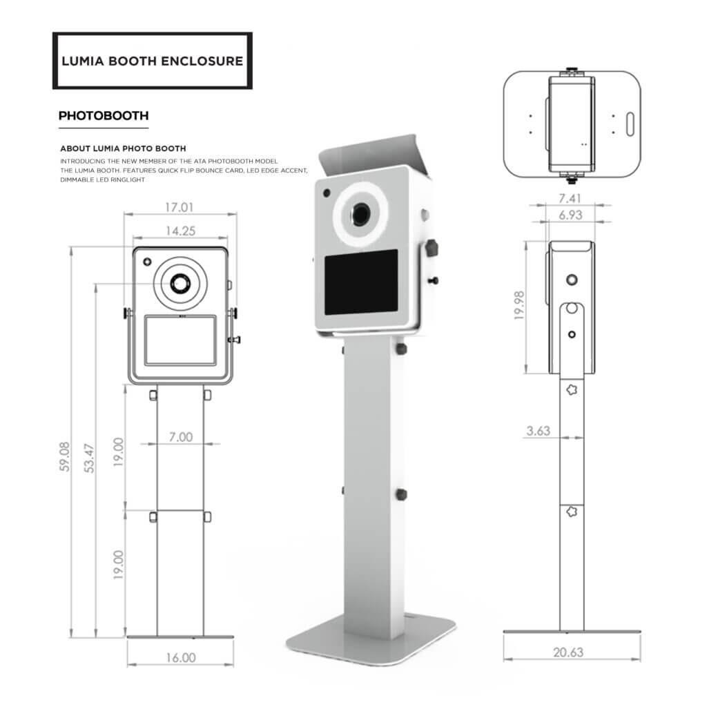 White Lumia for Photobooth