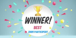 Zoom Contest Winner Virtual Game