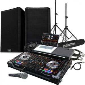 DJ & Sound system for wedding rehearsal dinner or event, wedding los angeles, wedding dj, Wedding production, music, sound, lighting