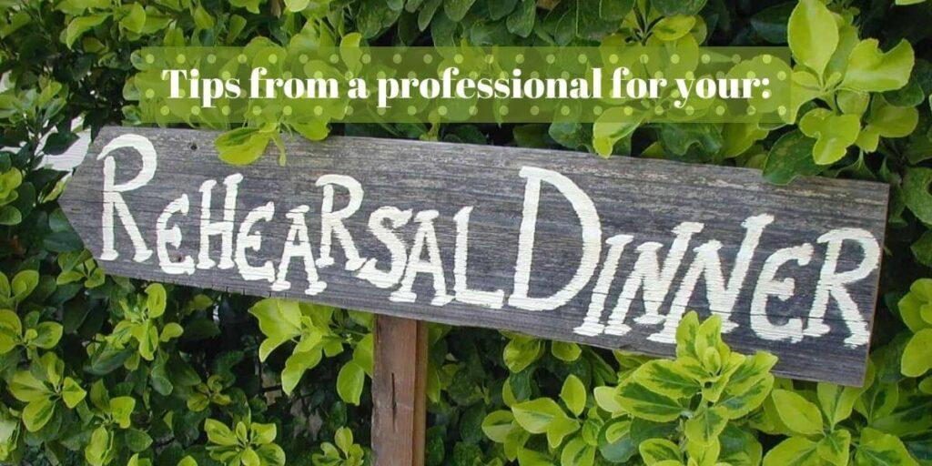 Tips on Wedding Ceremony Rehearsal Dinner
