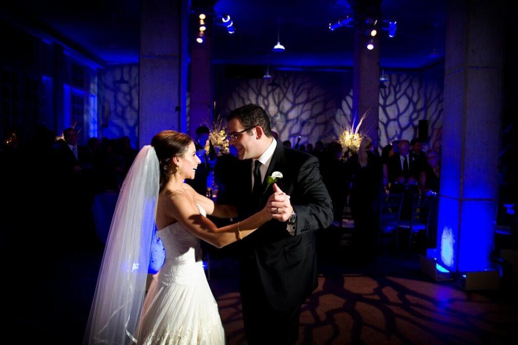 Wedding Reception First Dance Couple, With DJ & Lighting, Wedding Production Los Angeles, Wedding Entertainment Los Angeles