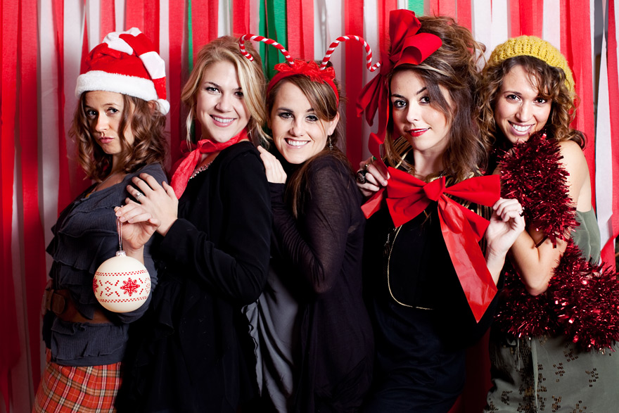 christmas photobooth los angeles